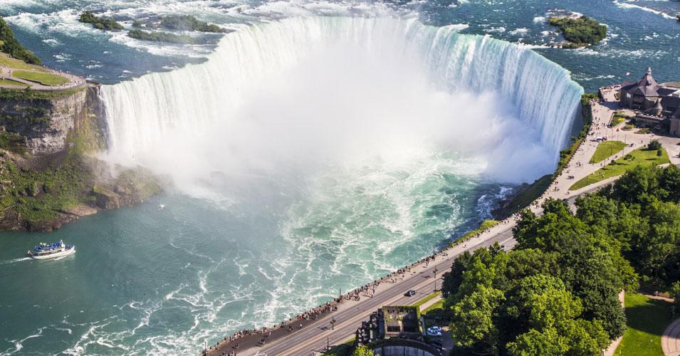 Horseshoe Falls (aka Canadian Falls). Niagara Falls Tourism photo