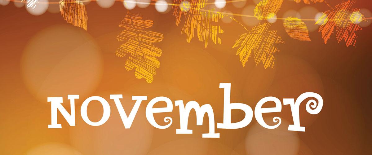 Image result for november events